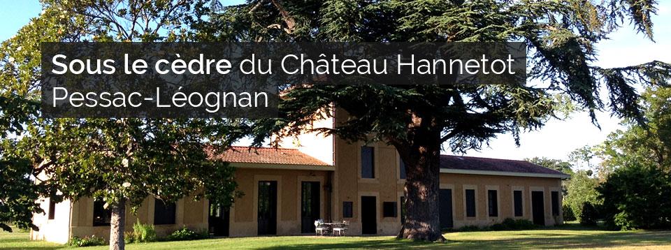 Sous le cèdre - Château Hannetot