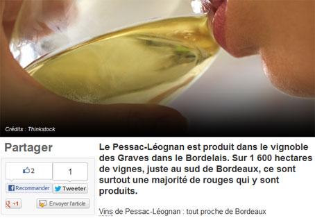 Revue de Presse Château Hannetot Pessac Léognon