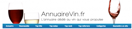 Le château de Xavier Beaumartin est sur annuairevin.fr